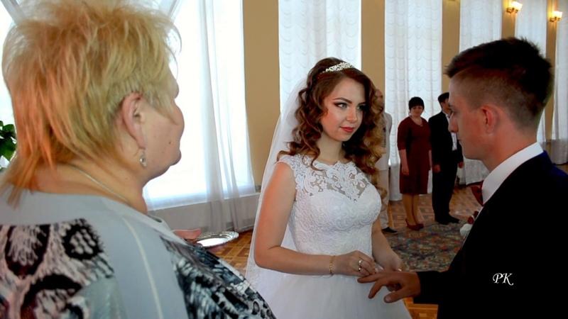 4. Весілля. Урочиста реєстрація шлюбу ( Коломия) - Адріана та Святослав - 4. Wedding.