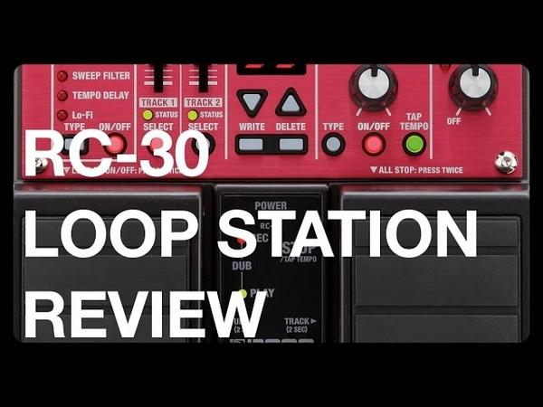 BOSS Loop Station RC-30 por Jorge Mathias