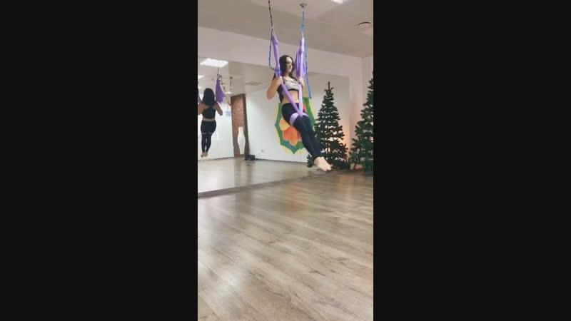 Танцы в гамаках с Ольгой Абрамович