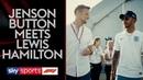 Льюис и Дженсон говорят о Формуле 1 и жизни
