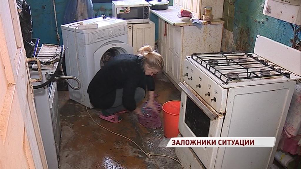 Ярославна с тремя детьми выживает без света, газа и воды в поселке Шпалозавода