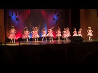 Танец барби Анфиса 20.01.2018