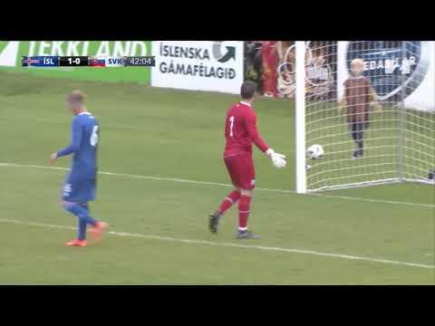 Iceland U21 vs Slovakia U21 (11.09.2018) ★ GOALS