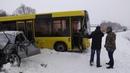 14 января в районе Мозыря произошла авария
