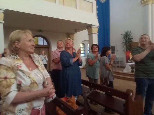 Анна Стрезева - бис в одесской Кирхе