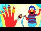 ELMO Finger Family Song Nursery Rhyme