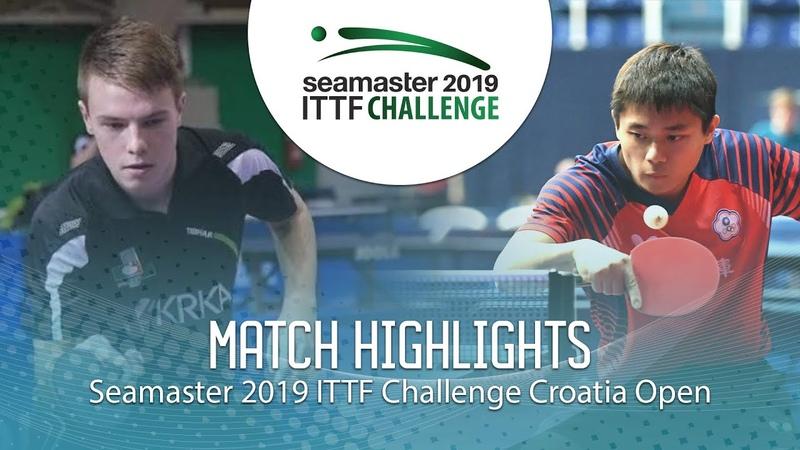 Peng Wang-Wei vs Tilen Cvetko | 2019 ITTF Challenge Croatia Open (Group)
