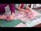 Тканевые салфетки для украшения новогоднего стола!