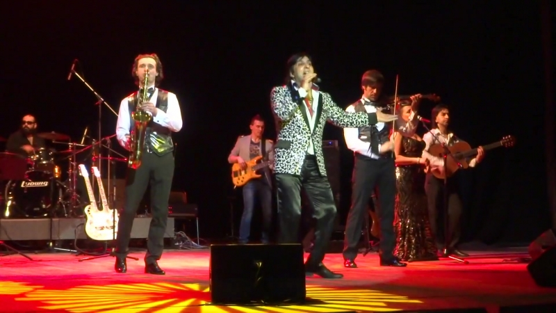 Концерт Александра Марцинкевича и группы Кабриолет в КДЦ Ижорский. Март 2013 г.