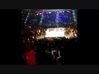 Rey Mysterio Jeff Hardy vs Randy Orton Andrade Cien Almas WWE Live Hartford