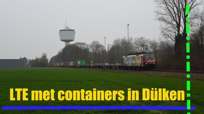 LTE 189 206 komt met containers langs Dülken