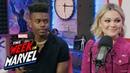 Olivia Holt Aubrey Joseph of 'Marvel's Cloak Dagger' talk Season 2 This Week in Marvel