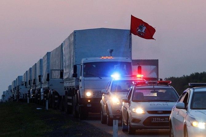 Россия намерена отправить еще один гуманитарный конвой на Донбасс