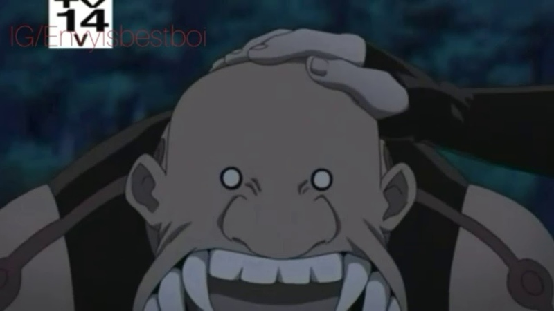 FMAB (English Dub) Alphonse, Edward and Ling vs Envy and Gluttony