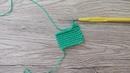 Как вязать крючком изнаночный столбик без накида