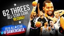 Team LeBron Team Giannis NBA RECORD 62 Threes in 2019 All-Star Game!   FreeDawkins