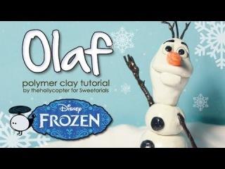 Polymer Clay Tutorial: Olaf the Snowman
