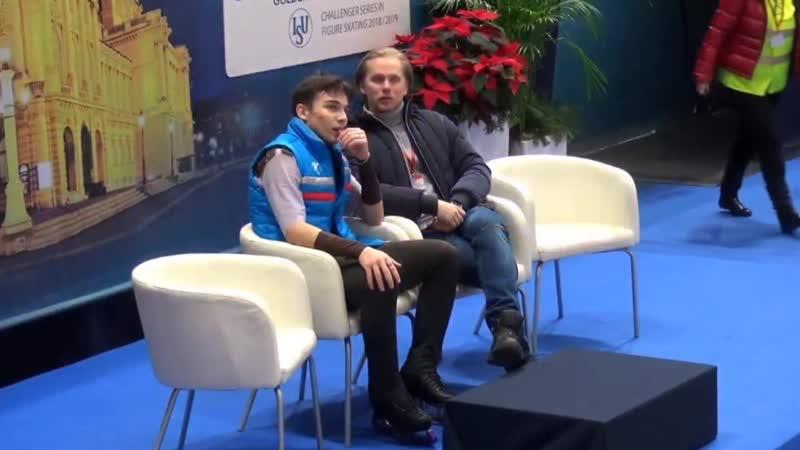 Golden Spin of Zagreb 2018. MEN - FS. Anton SHULEPOV