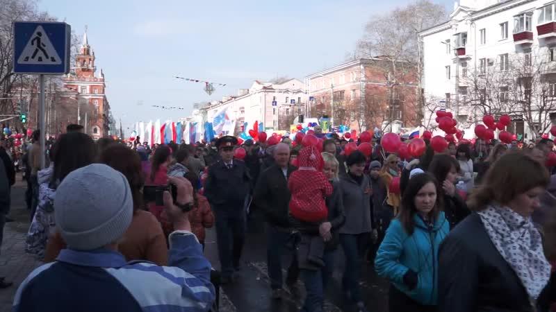 Марш памяти 9 мая 2013 года в Комсомольске-на-Амуре (09.05.2013)