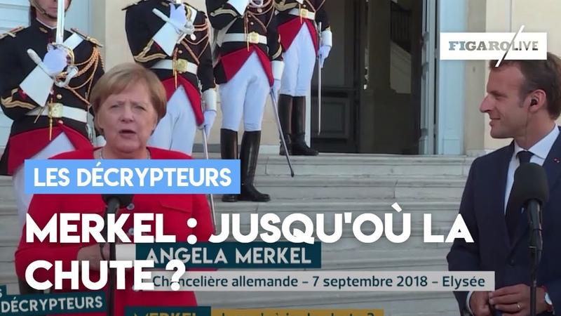 Merkel Jusqu'où ira la chute