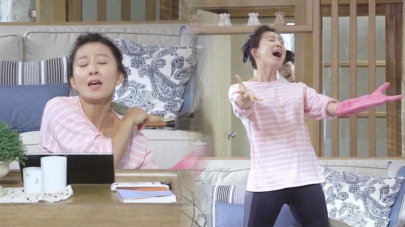 김희애, 청소중 한껏 내려놓고 흥 분출 '댄스 삼매경' 《Second to Last Love》 끝에서 두 번째 사랑 EP02