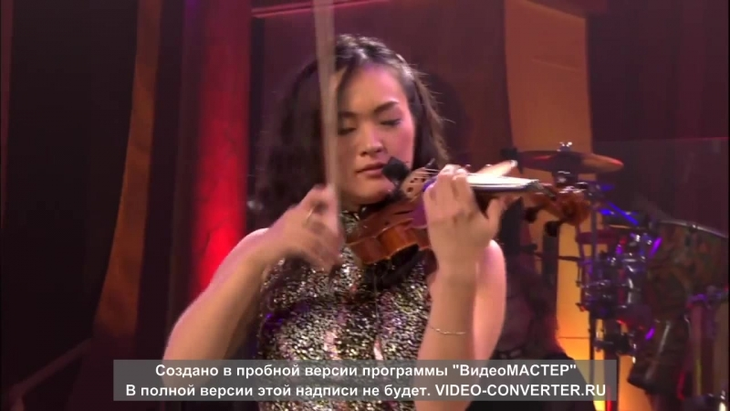 Sayaka Katsuki Japan violin The Concert Event Yanni Live