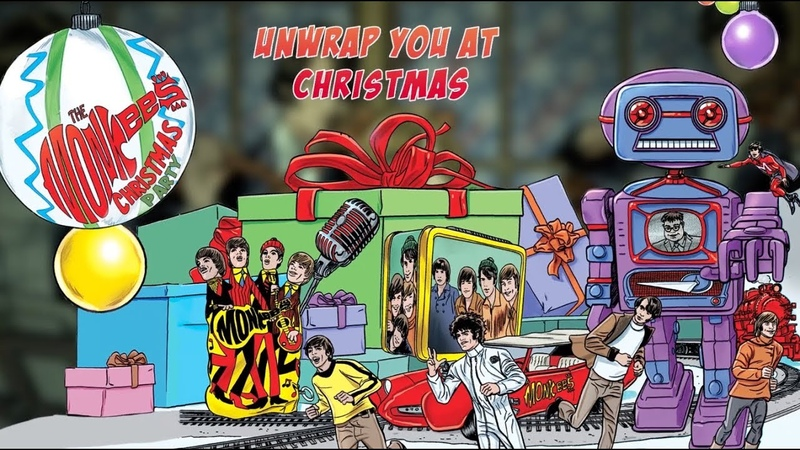 The Monkees - Unwrap You At Christmas (Official Lyric Video)