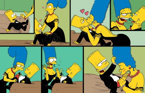 Порно комикс симпсоны мардж и барт 40432 фотография