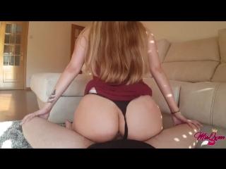 Mia queen-petite latina gets a quickie at her parents(pov/amateur/blowjob/latina/big ass/минет/порно/домашнее/от первого лица)