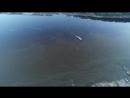 Паром в Тюлькино входит из вод Камы в воду Вишеры