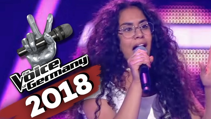 David Guetta Sia Flames Linda Alkhodor The Voice of Germany Blind Audition