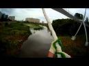 Первый прыжок Артура с моста на Элеваторную гору