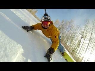 Русский слалом на сноуборде