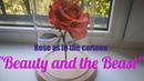 Роза как в мультике Красавица и чудовище | SUBTITLES