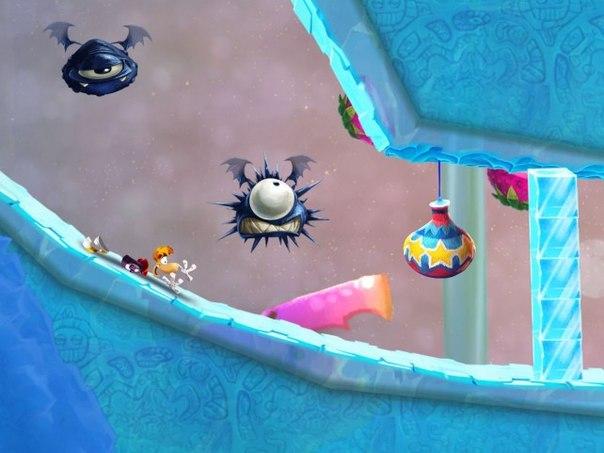 Скачать Rayman Fiesta Run для android