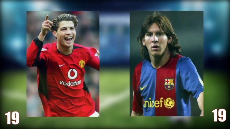 Cristiano Ronaldo vs Lionel Messi Transformation From 1 To 33 Years Old.mp4