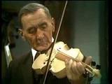 Der Geigenbauer Johann Lexer bei Professor Deutsch