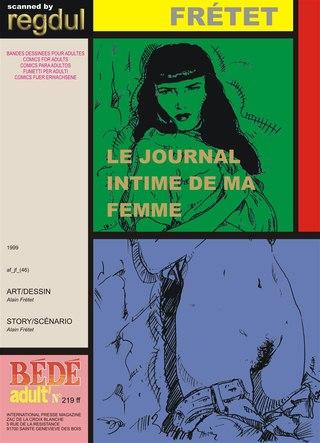 Le Journal Intime de ma Femme