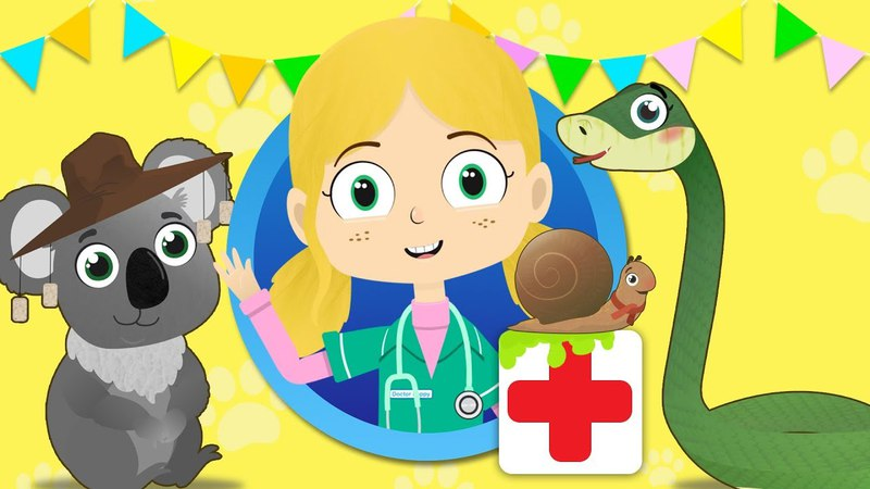 Shane The Koala Visits Dr Poppy's Pet Rescue | Animals For Children