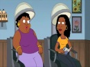 Гриффины. Черная ретроспективная женщина