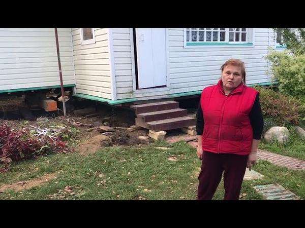 Подъем дома на винтовые сваи ГЛАВ СВАИ отзывы