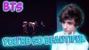 [ENG] LOTTE DUTY FREE x BTS M/V You're so Beautiful Реакция | Реакция на BTS You're so Beautiful