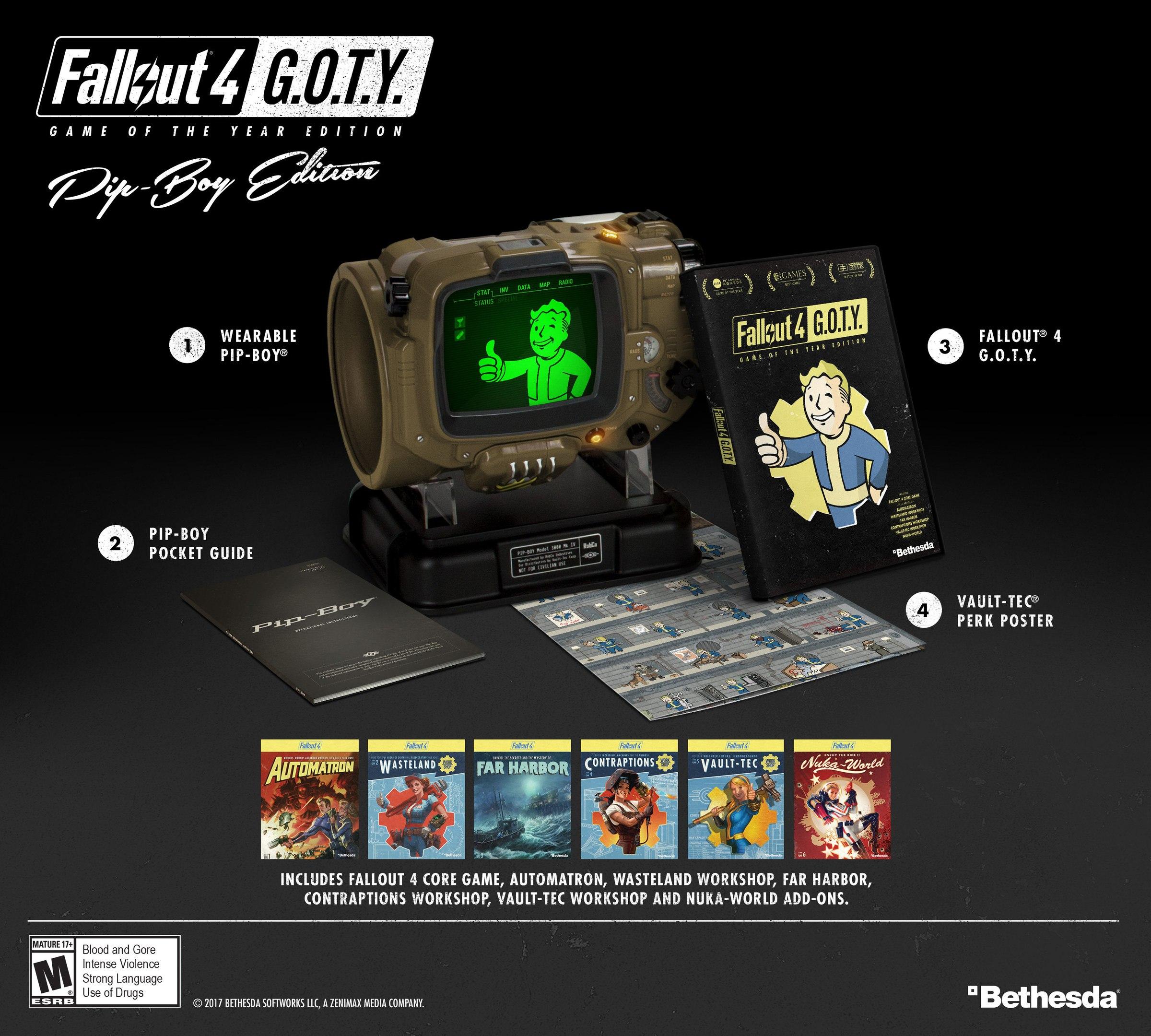 Вернитесь в Пустошь 26 сентября в Fallout 4: Game of the Year Edition.