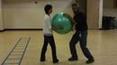 Taiji Taichi Gravity Center in Form Training