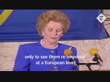 It is nearly thirty years since Margaret Thatcher gave the Bruges Speech