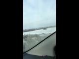 Разгон до 60км/час по снежному полю. Прототип BigBo