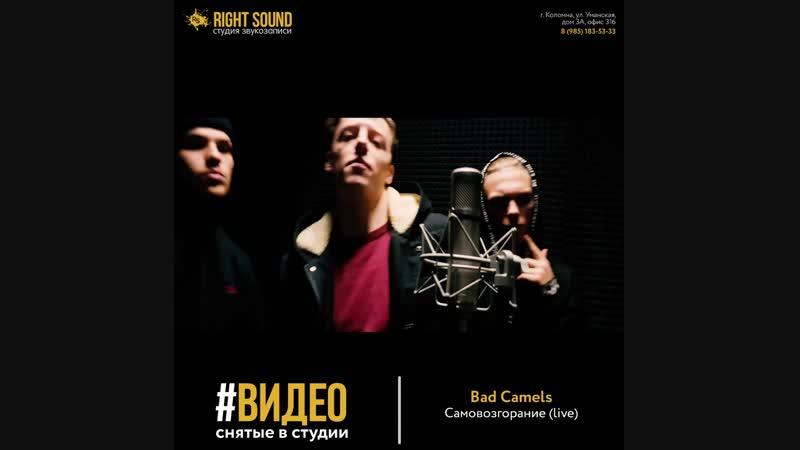 Bad Camels - Самовозгорание (Live)