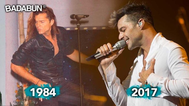 La increíble evolución musical de Ricky Martin