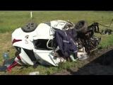 Смертельное ДТП на трассе в РТ Hyundai лоб в лоб столкнулся с КамАЗом
