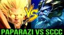 Paparazi Invoker vs SCCC Zeus - China Top Carry Midlane Battle